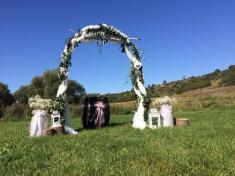 Svatební den vMilovicích 2